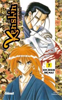 couverture, jaquette Kenshin le Vagabond 7  (Glénat Manga) Manga