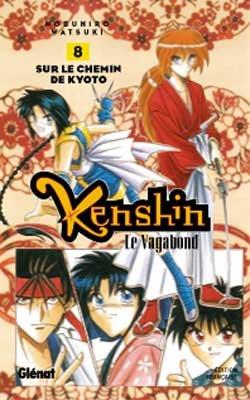 couverture, jaquette Kenshin le Vagabond 8  (Glénat Manga) Manga