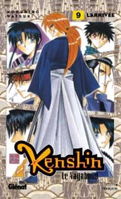 couverture, jaquette Kenshin le Vagabond 9  (Glénat Manga)