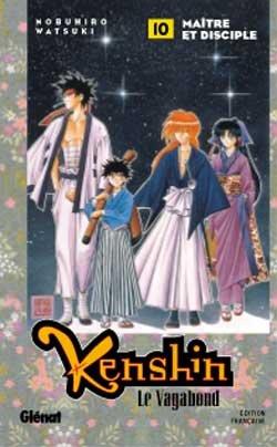 couverture, jaquette Kenshin le Vagabond 10  (Glénat Manga)