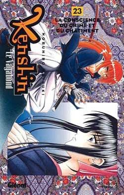 couverture, jaquette Kenshin le Vagabond 23  (Glénat Manga)