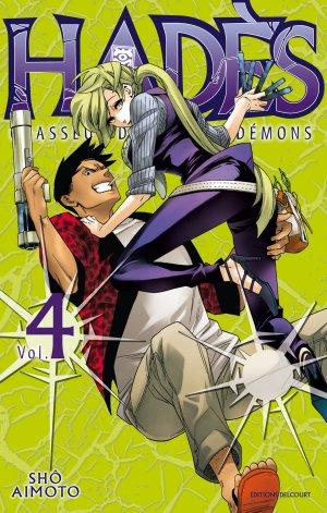 couverture, jaquette Hadès 4  (Delcourt Manga)