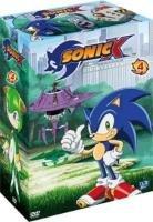couverture, jaquette Sonic X 4 SIMPLE  -  VF 1 (Déclic images)