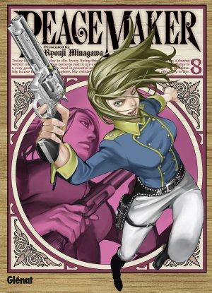couverture, jaquette PeaceMaker 8  (Glénat Manga)