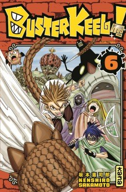 couverture, jaquette Buster Keel ! 6  (kana)