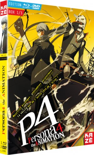 Persona 4: The Animation édition Combo DVD + Blu-ray