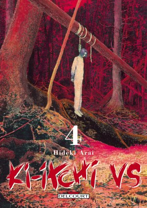 couverture, jaquette Ki-itchi VS 4  (Delcourt Manga)