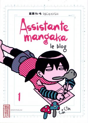 Assistante Mangaka Le Blog édition Simple