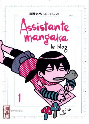 Assistante Mangaka Le Blog