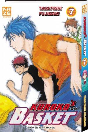 couverture, jaquette Kuroko's Basket 7  (kazé manga)