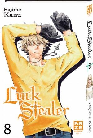 couverture, jaquette Luck Stealer 8  (kazé manga)