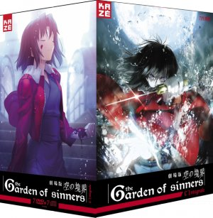 The Garden of Sinners édition Intégrale DVD Slim