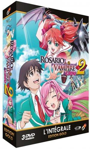 Rosario   Vampire Capu2 édition Intégrale Gold DVD