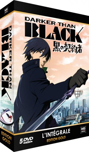 Darker than Black édition DVD Edition Gold