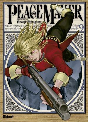 couverture, jaquette PeaceMaker 9  (Glénat Manga)