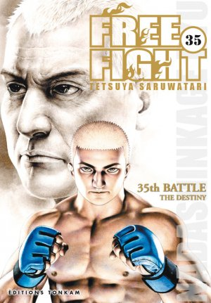 couverture, jaquette Free Fight - New Tough 35  (Tonkam)