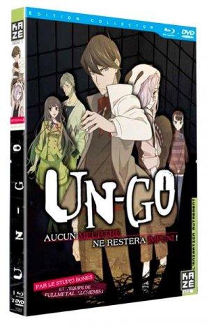 UN-GO édition Intégrale Combo DVD + Blu-ray