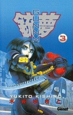 couverture, jaquette Gunnm 3  (Glénat Manga) Manga