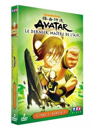 couverture, jaquette Avatar : Le Dernier Maitre de l'Air 2 Livre 2 : La terre DVD (TF1 Vidéo) Série TV animée