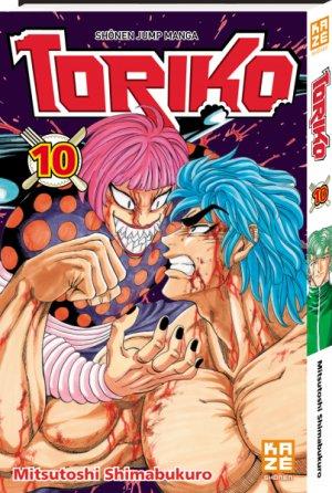 couverture, jaquette Toriko 10  (kazé manga) Manga