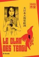 couverture, jaquette Le Clan des Tengu 4  (casterman manga)