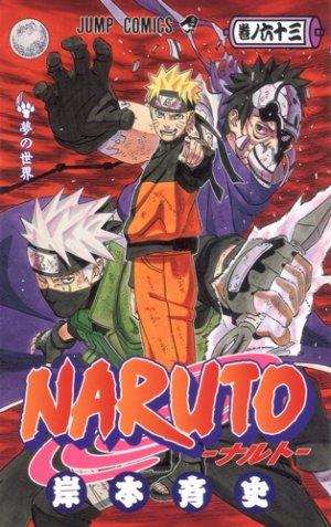 couverture, jaquette Naruto 63  (Shueisha)