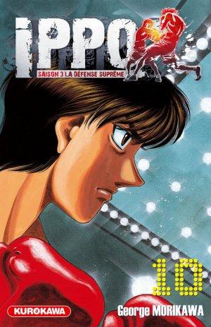 couverture, jaquette Ippo 10 Saison 3 : La Défense Suprême (Kurokawa) Manga