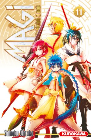 Magi - The Labyrinth of Magic 11