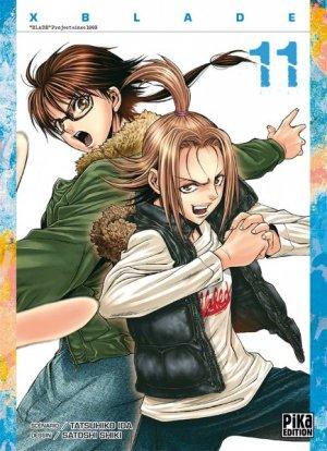 couverture, jaquette X Blade 11  (Pika) Manga