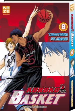 couverture, jaquette Kuroko's Basket 8  (kazé manga) Manga