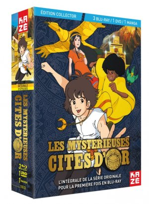 Les Mystérieuses Cités d'Or édition INTEGRALE