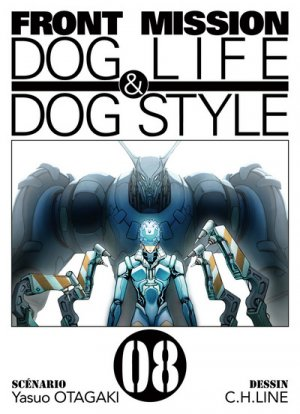 couverture, jaquette Front Mission Dog Life and Dog Style 8  (Ki-oon)