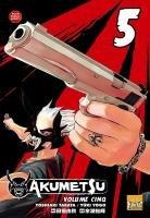 couverture, jaquette Akumetsu 5  (Taifu Comics)