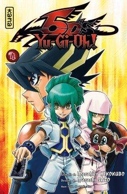 couverture, jaquette Yu-Gi-Oh! 5D's 4  (kana) Manga