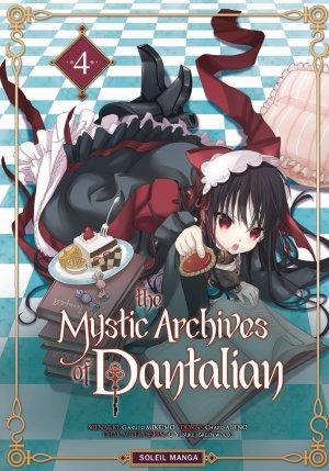 couverture, jaquette The Mystic Archives of Dantalian 4  (soleil manga)
