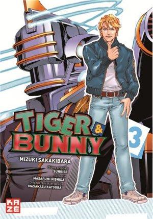 Tiger & Bunny T.3