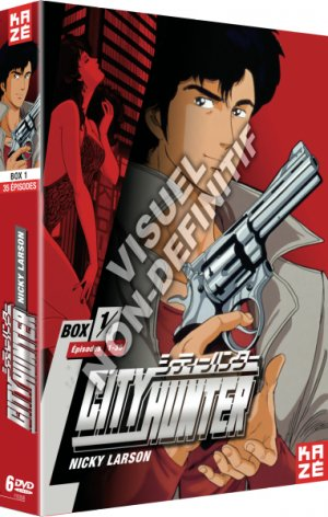 City Hunter - Nicky Larson édition Coffret