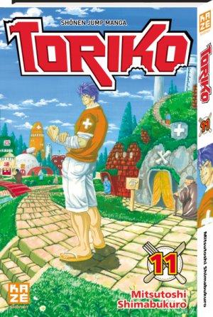 couverture, jaquette Toriko 11  (kazé manga) Manga