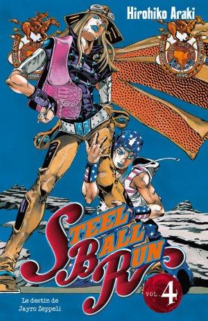 Jojo's Bizarre Adventure - Steel Ball Run T.4
