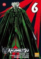 couverture, jaquette Akumetsu 6  (Taifu Comics)