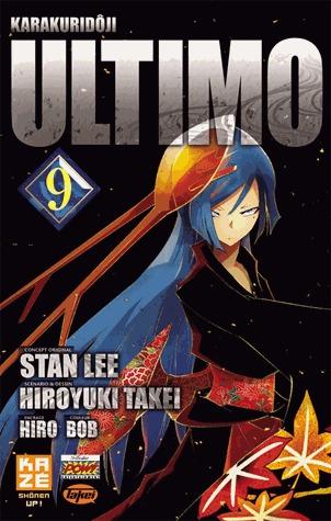 couverture, jaquette Ultimo 9  (kazé manga)