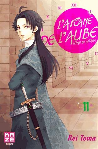 couverture, jaquette L'Arcane de l'Aube 11  (kazé manga) Manga