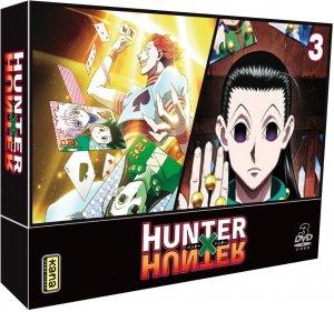 couverture, jaquette Hunter X Hunter (2011) 3 Coffret DVD (Kana home video)