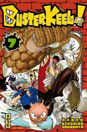 couverture, jaquette Buster Keel ! 7  (kana)