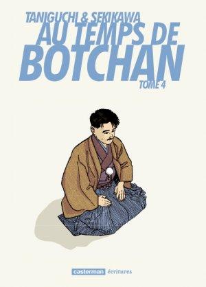 Au Temps de Botchan Réédition Française 4 Manga