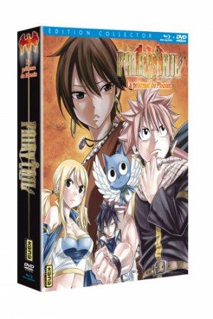 Fairy Tail - La Prêtresse du Phœnix édition Collector Combo BR/DVD