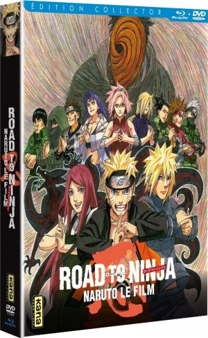 Naruto Shippûden Film 6 - Road to Ninja édition Collector Combo BR/DVD