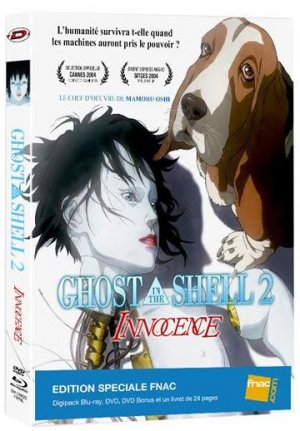 Ghost in the Shell 2 : Innocence édition Collector Combo BR/DVD édition Fnac