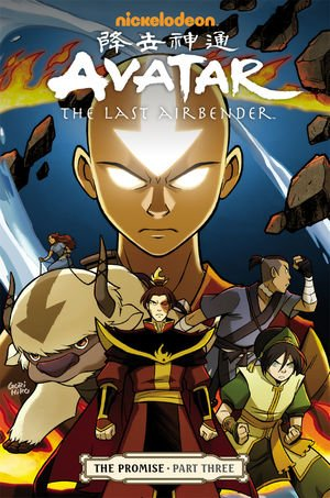 Avatar - The Last Airbender - The Promise Anime comics