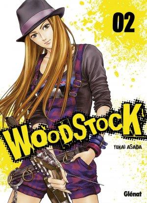 couverture, jaquette Woodstock 2  (Glénat Manga)